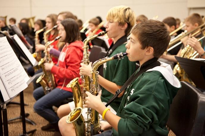Allendale Public Schools, Allendale Middle School, Christmas CD