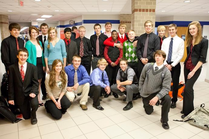 Dress for Success, APS, Allendale High School