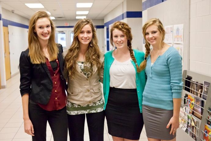 APS, Dress for Success, Allendale High School