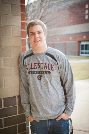 APS, Aaron Wickstom, Allendale High School football