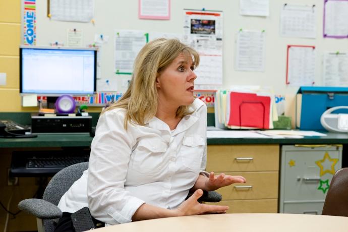 Deb DeLooff, Allendale Public Schools, Student Services Coordinator