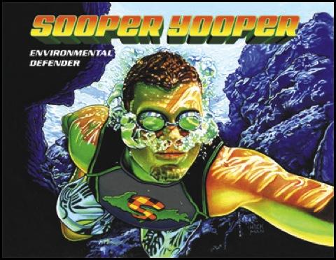 Sooper Yooper, Mark Newman, Allendale Public Schools, Family Literacy Night