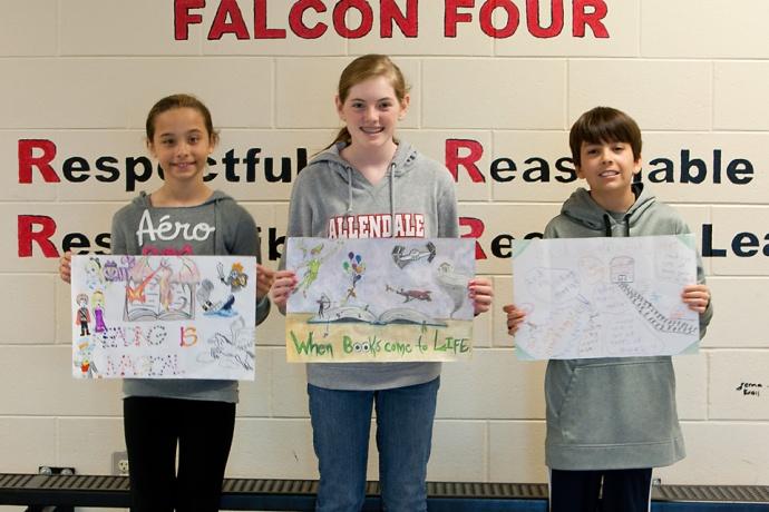 Allendale Middle School, book publications, Allendale Public Schools