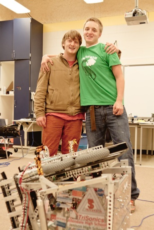 Robotics Competition, Trisonic, Allendale High School, Zach Holmes, Zach Jones