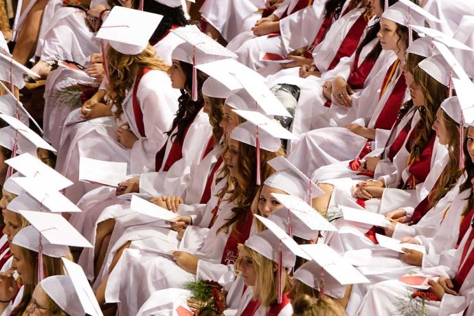 Allendale Graduation, Allendale Public Schools, Allendale High School