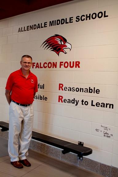 Rocky Thompson, Allendale Public Schools, Allendale Middle School