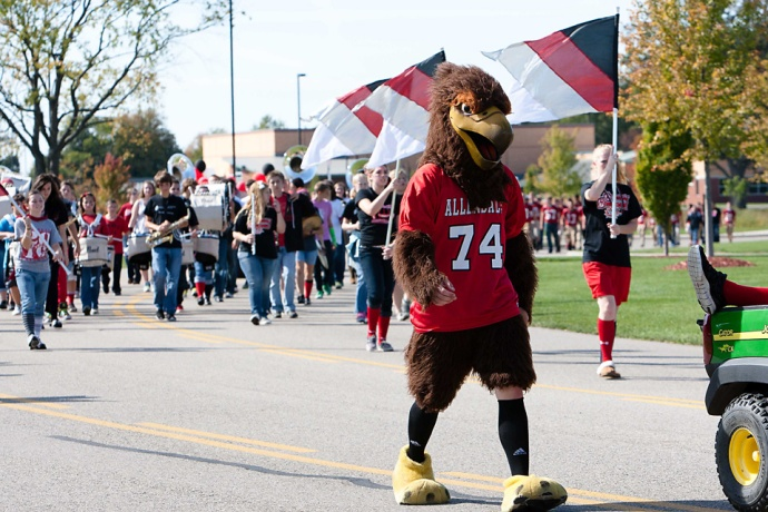falcon, Allendale Public Schools, Allendale High School, APS, Homecoming
