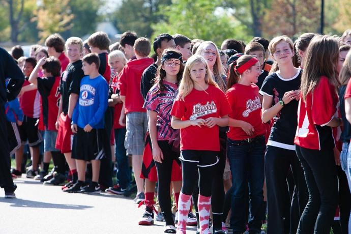 Allendale Public Schools, Allendale High School, APS, Homecoming