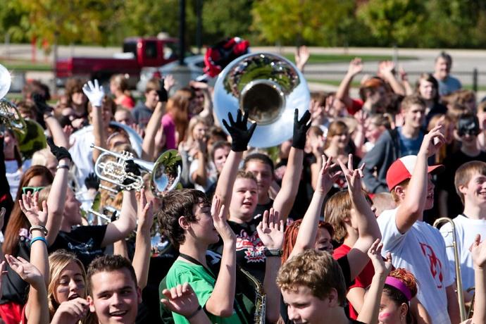 tuba, Allendale Public Schools, Allendale High School, APS, Homecoming