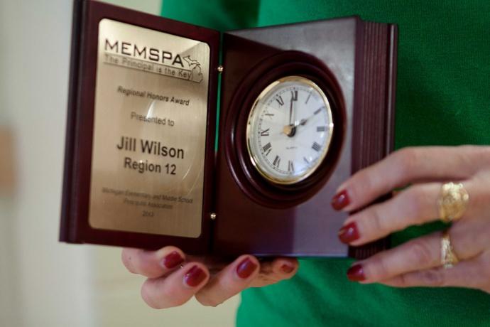Jill Wilson, Allendale Public Schools, MEMSPA