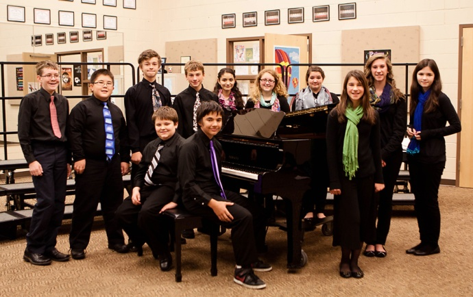 Allendale Middle School, State Honors Choir