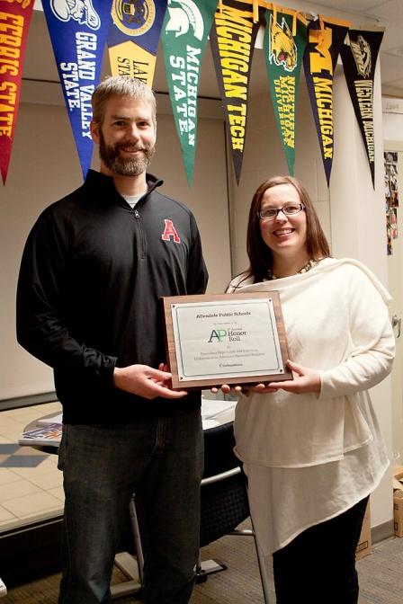 Allendale Public Schools, AP Honor Roll