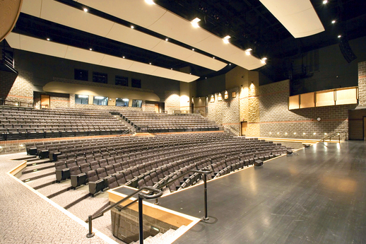 Allendale Fine Arts Center, Ceglarek Fine Arts Center