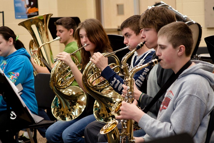allendale middle school band