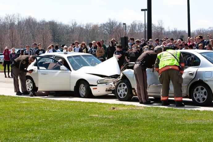 crashScene, Allendale High School