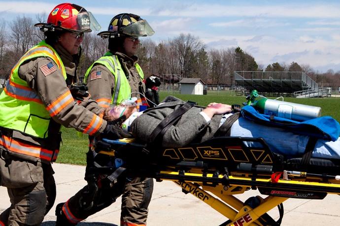 stretcher, Allendale High School