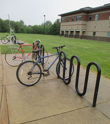 Summer bike tips bike rack
